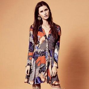 NEW WITH TAGS JAASE WILDEST DREAMS BUTTON UP DRESS